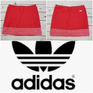 Adidas red dry fit Athletic skirt xs/s